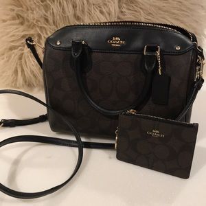 Coach bag Bennett mini with purse